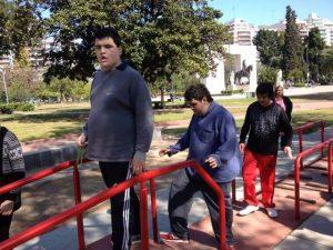 Guapos en Parque Rivadavia