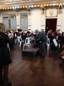 Sínfonica en el Club Italiano